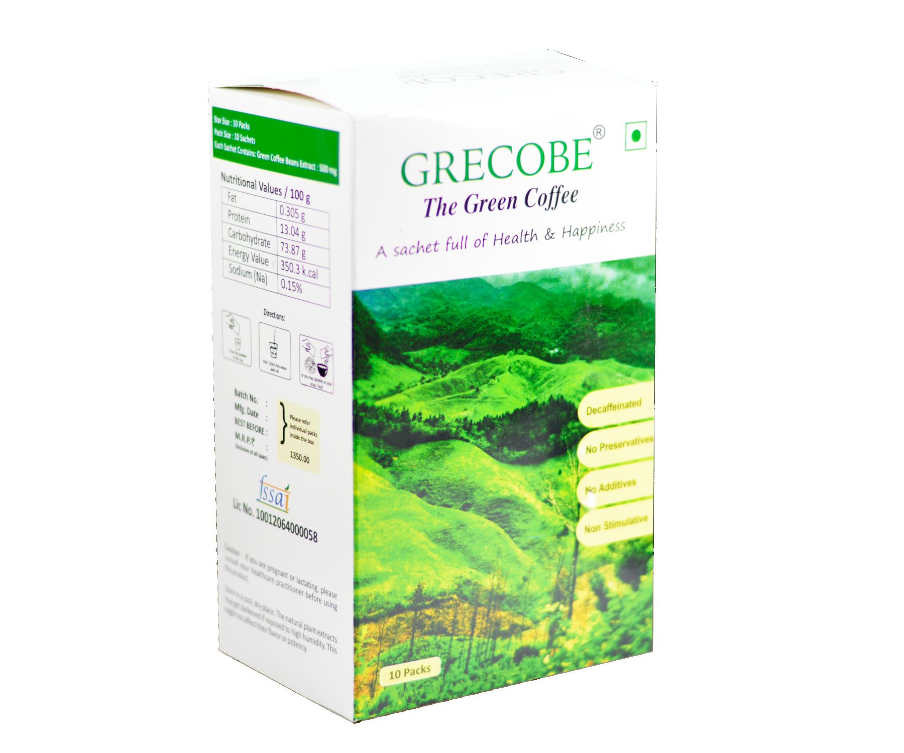 Grecobe - Green coffee