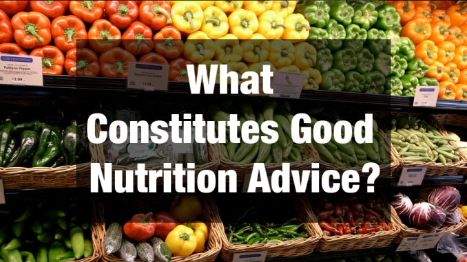 5 Bits Of Nutrition Advice You Should Stop Following